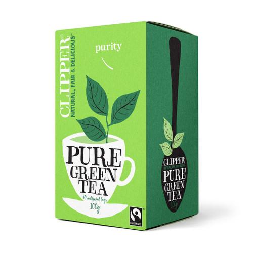 Clipper Fairtrade Pure Green Tea 50 bags 100g