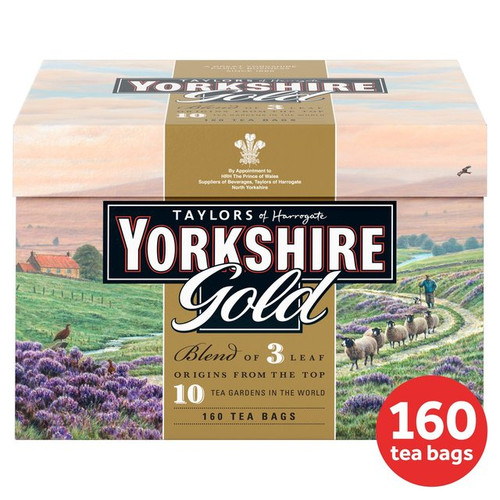 Taylor's of Harrogate Yorkshire Gold Tea Bags 160 per pack