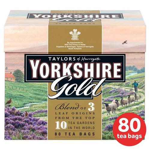 Taylors of Harrogate Yorkshire Gold Tea Bags 80 per pack