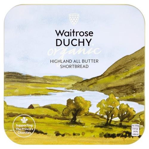 Waitrose Duchy Organic Shortbread Tin 300g