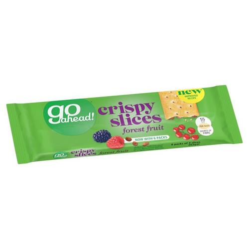 Go Ahead Crispy Fruit Slice Forest Fruit 6 per pack