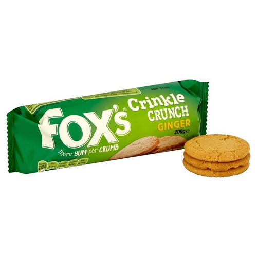 Fox's Ginger Crinkle Crunch Biscuits 200g