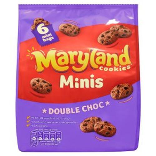 Maryland Mini Double Choc Chip 6 Snack Packs 6x22g