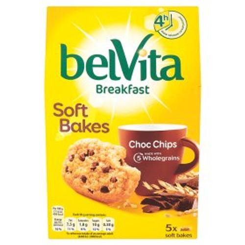 Belvita Breakfast Biscuits Soft Bakes Choc Chip 250g