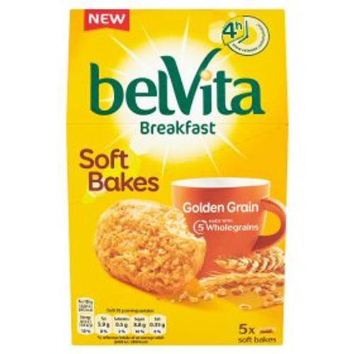 Belvita Breakfast Biscuits Soft Bakes Golden Grain 250g