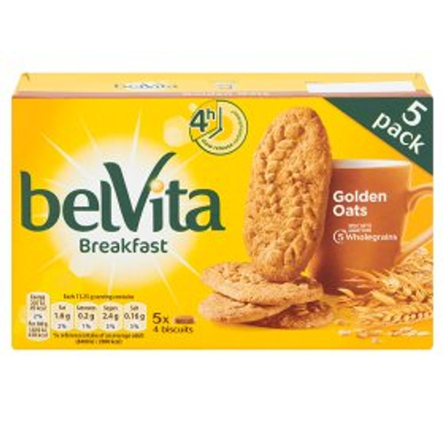 Belvita Breakfast Biscuits Golden Oats 5 Packs 225g