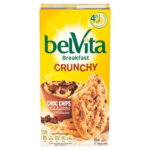 Belvita Crunchy Choc Chip 6 x 50g