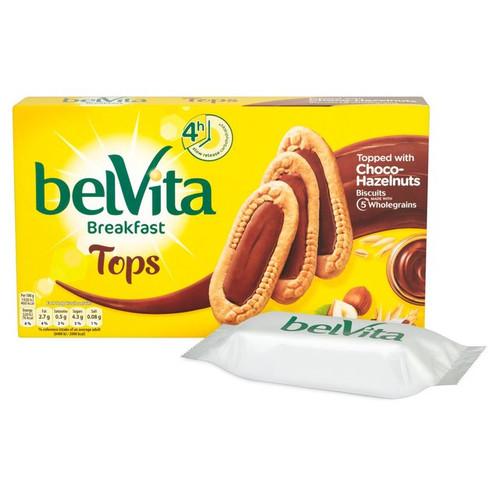 Belvita Tops Choco Hazelnut 5 x 50g