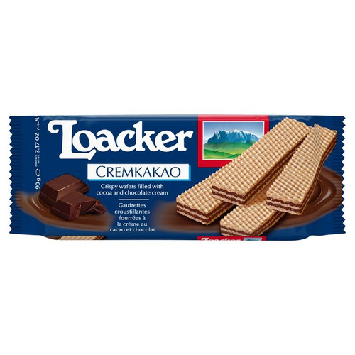 Loacker Cremkakao Chocolate Wafer 90g