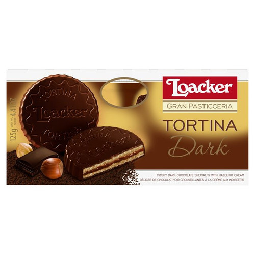 Loacker Tortina Dark 125g