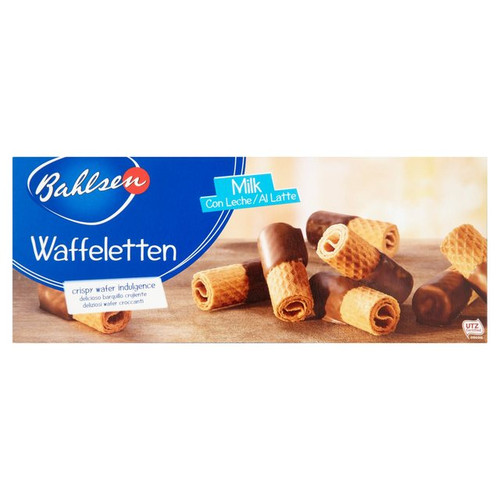 Bahlsen Waffeletten Milk Chocolate Wafers 100g