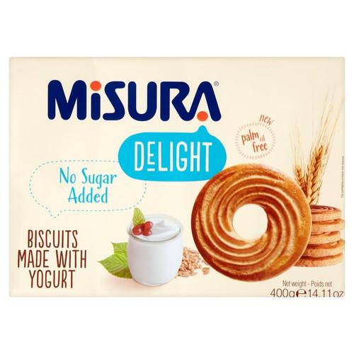 Misura Delight Biscuits with Yogurt 400g