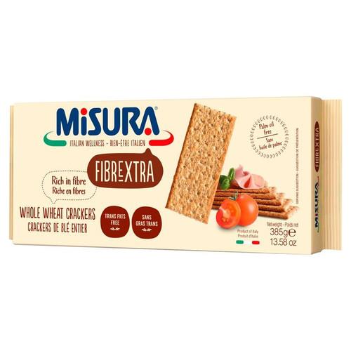 Misura Fibrextra Whole Wheat Crackers 385g