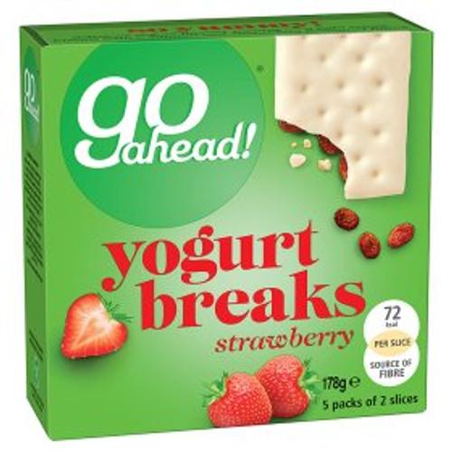Go Ahead! Yogurt Breaks Strawberry 5x35.5