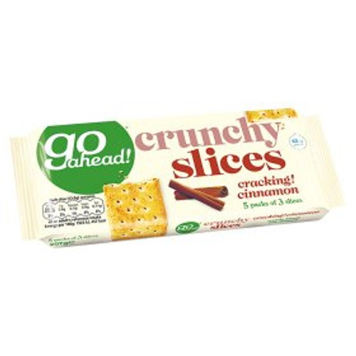 Go Ahead! Crunchy Slices Cracking! Cinnamon 207g