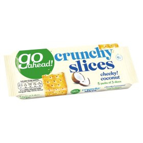 Go Ahead! Crunchy Slices Cheeky! Coconut 207g