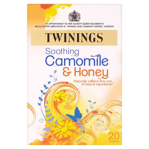 Twinings Camomile & Honey Tea 20 per pack
