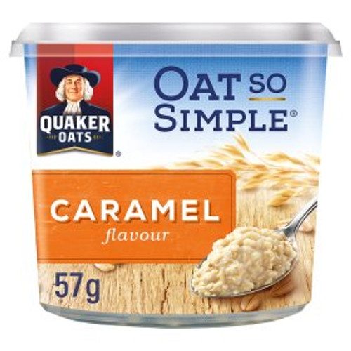 Quaker Oat So Simple Caramel Porridge Pot 57g
