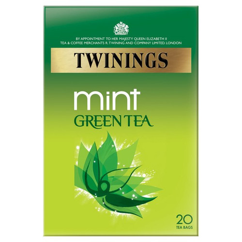Twinings Mint Green Tea 20 per pack