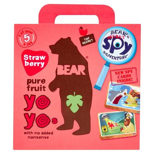 Bear Fruit Yoyos Strawberry Multipack 5 x 20g