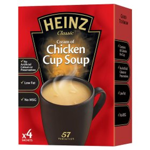Heinz Classic Cream of Chicken Cup Soup 68g