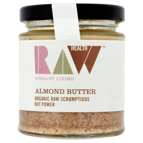 Raw Health Organic Almond Butter 170g