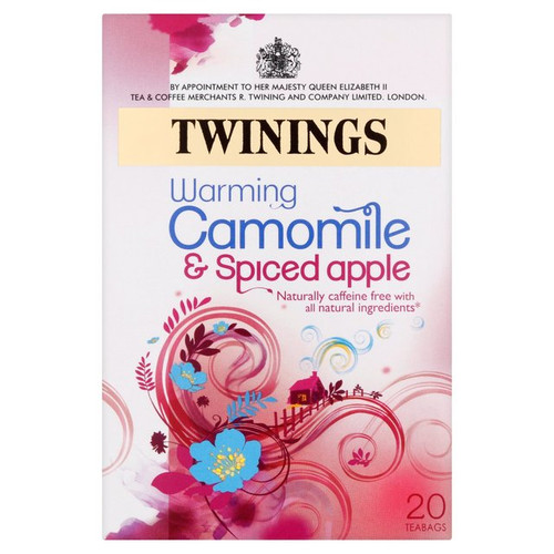 Twinings Camomile & Spiced Apple Tea Bags 20 per pack