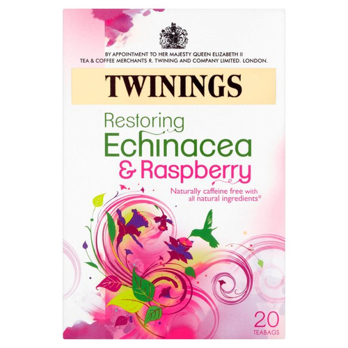 Twinings Echinacea & Raspberry Tea Bags 20 per pack