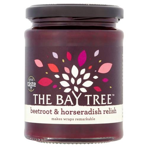 The Bay Tree Relish Beetroot & Horseradish 300g