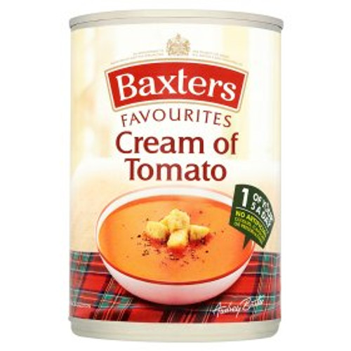 Baxters Favourites Cream of Tomato 400g
