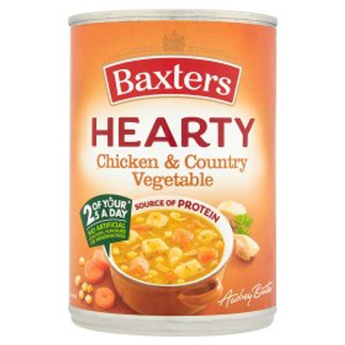 Baxters Hearty Chicken & Vegetable Soup 400g