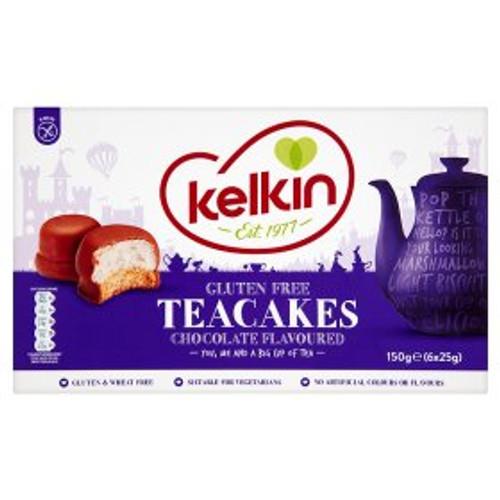 Kelkin Gluten Free Teacakes Chocolate Flavoured 150g