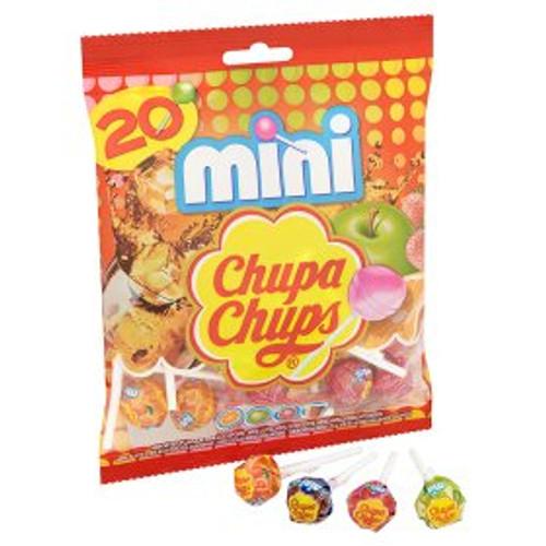 Chupa Chups Assorted Mini Lollipops 20 Pack 120g