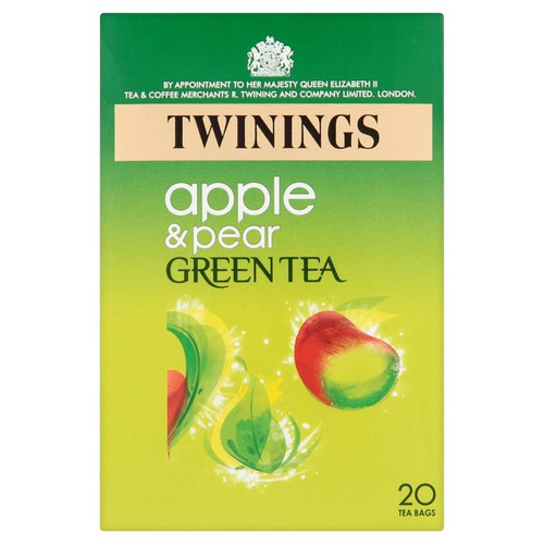 Twinings Apple & Pear Green Tea 20 per pack