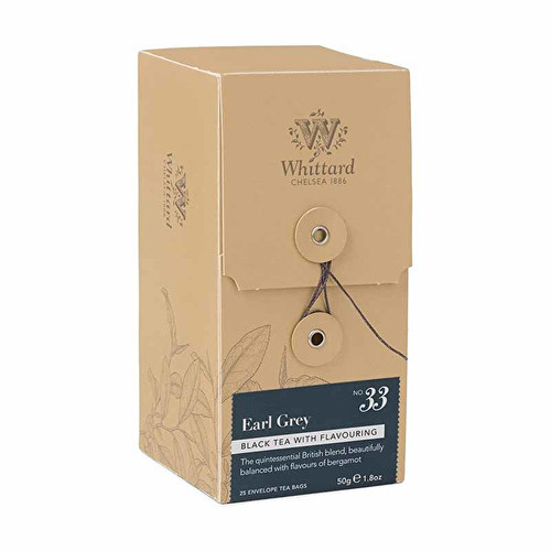 Whittards 25 Earl Grey Teabags