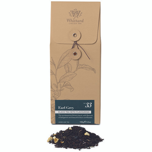 Whittards Earl Grey Loose Tea Pouch, 100g