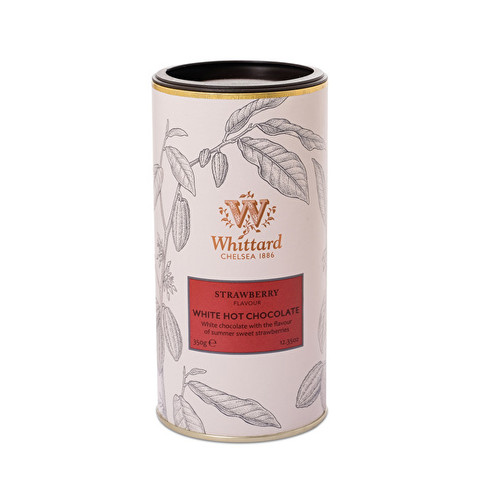 Strawberry Flavour White Hot Chocolate 350g