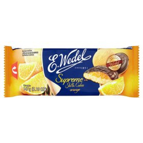 E.Wedel Supreme Jaffa Cakes Orange 147g