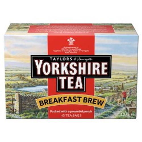 Taylors of Harrogate Yorkshire Tea Breakfast Brew Tea Bags 125g