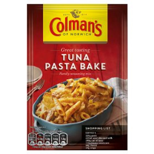 Colman's Tuna Pasta Bake Recipe Mix 44g