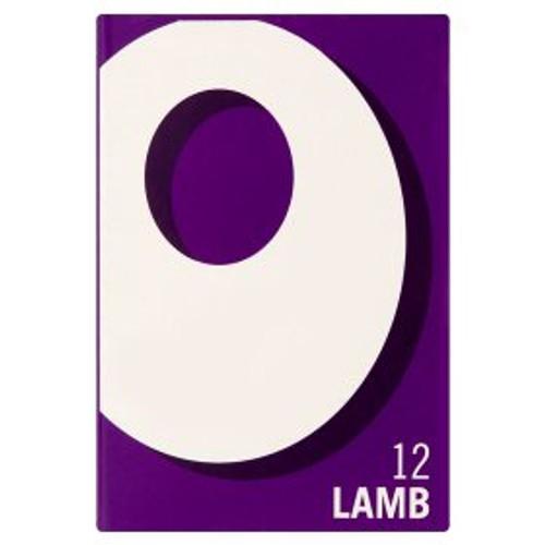 Oxo Lamb Stock Cubes 12x6g