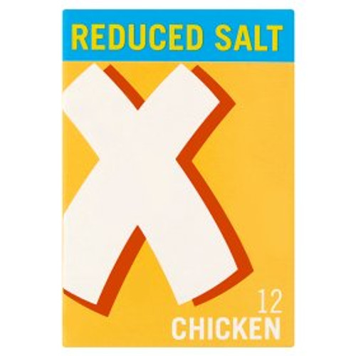 Oxo Reduced Salt Chicken Stock Cubes 12x6g