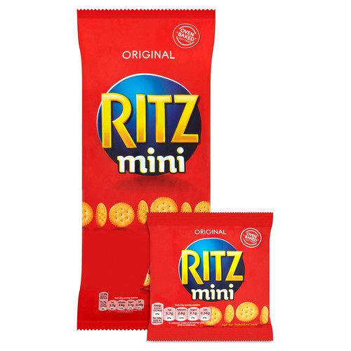 Mini Ritz Crackers Original 25g x 6 per pack