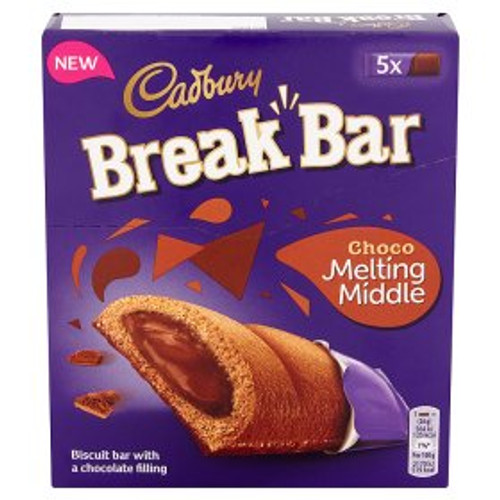 Cadbury Break Bar Melting Middle Chocolate