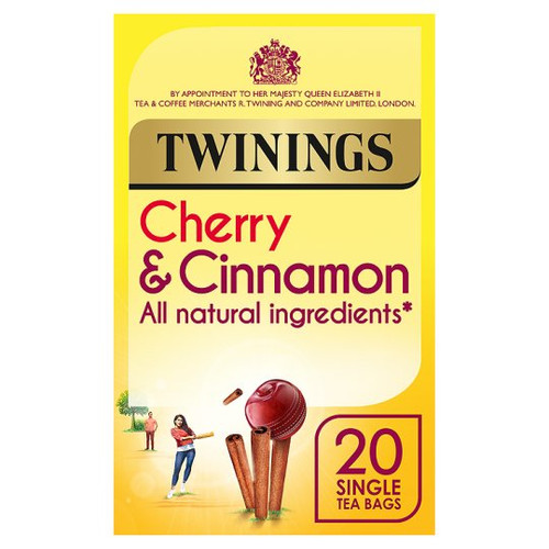 Twinings Cherry And Cinnamon 20 Tea Bags 40G