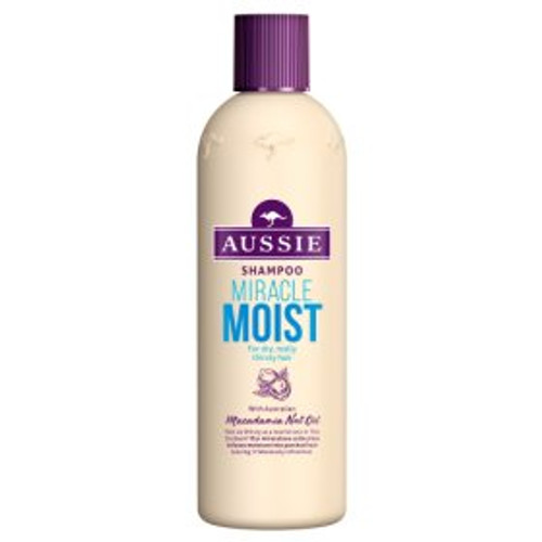 Aussie Miracle Moist Shampoo for dry damaged hair