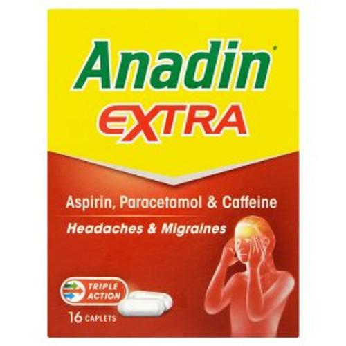 Anadin Extra Caplets 16's