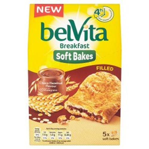 Belvita Breakfast Biscuits Soft Bakes Filled Choco Hazelnut