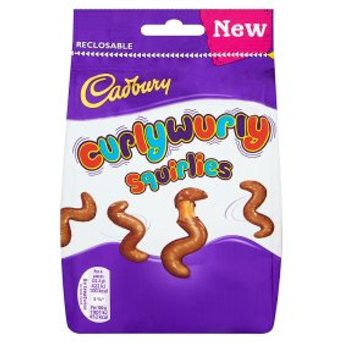 Cadbury Curly Wurly Squirlies Bag