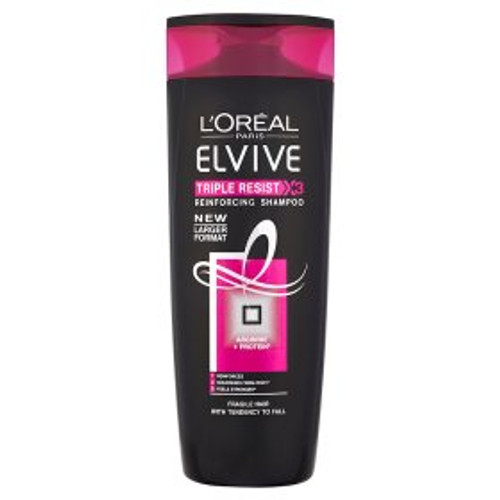 L'Oreal Elvive Triple Resist Fragile Hair Shampoo